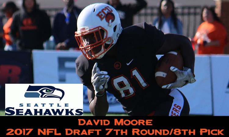 Moore Drafted by Seattle Seahawks in 2017 NFL Draft - East Central ...